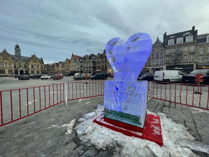 Onder andere dit hart in ijs was geen lang leven beschoren.© TP