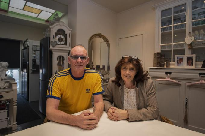 Reggie Van Avermaete en Caroline Indevuyst herstellen nog steeds van hun coronabesmetting.© MD