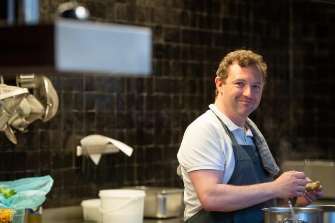 Chef Matthieu Beudaert. (Foto Westtoer)
