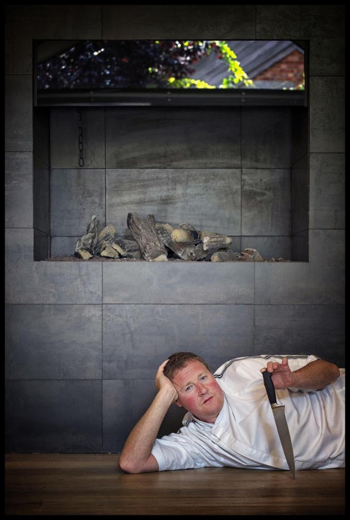 Chef Chris Beke van La Coupole. (Foto Westtoer)