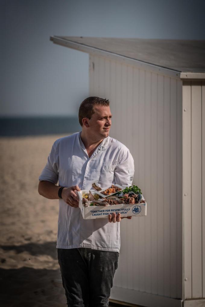 Chef Sven Dierick van Den Artisjok. (Foto Westtoer)