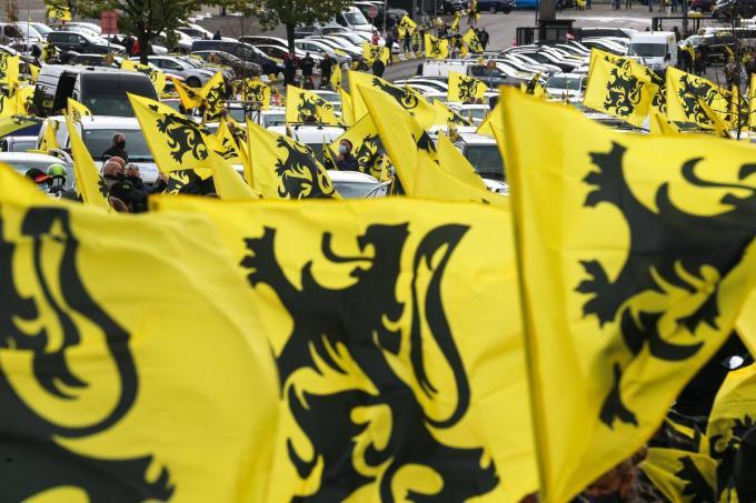 Wouter Vermeersch wil dat Vlaams Belang bij de volgende verkiezingen minstens twee zetels haalt in Ieper. (foto Belga)©NICOLAS MAETERLINCK BELGA