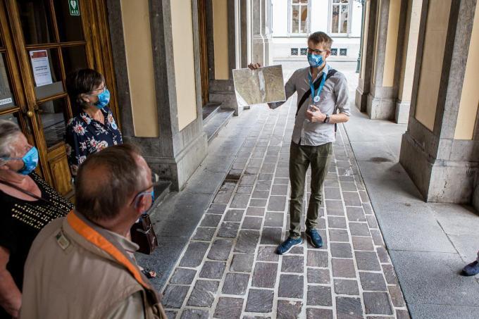 Gidsbeurtn worden opnieuw toegelaten in Brugge, maar er zijn nog geen boekingen.©Davy Coghe Davy Coghe