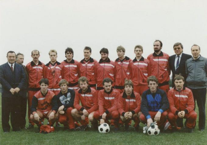 Het seizoen '88-'89 bij Winkel Sport, toen Dominique Stove na een jaartje SV Koekelare was teruggekeerd naar Terschueren.