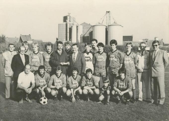 Het seizoen '85-'86 toen Dominique Stove als 16-jarige debuteerde bij Winkel Sport.