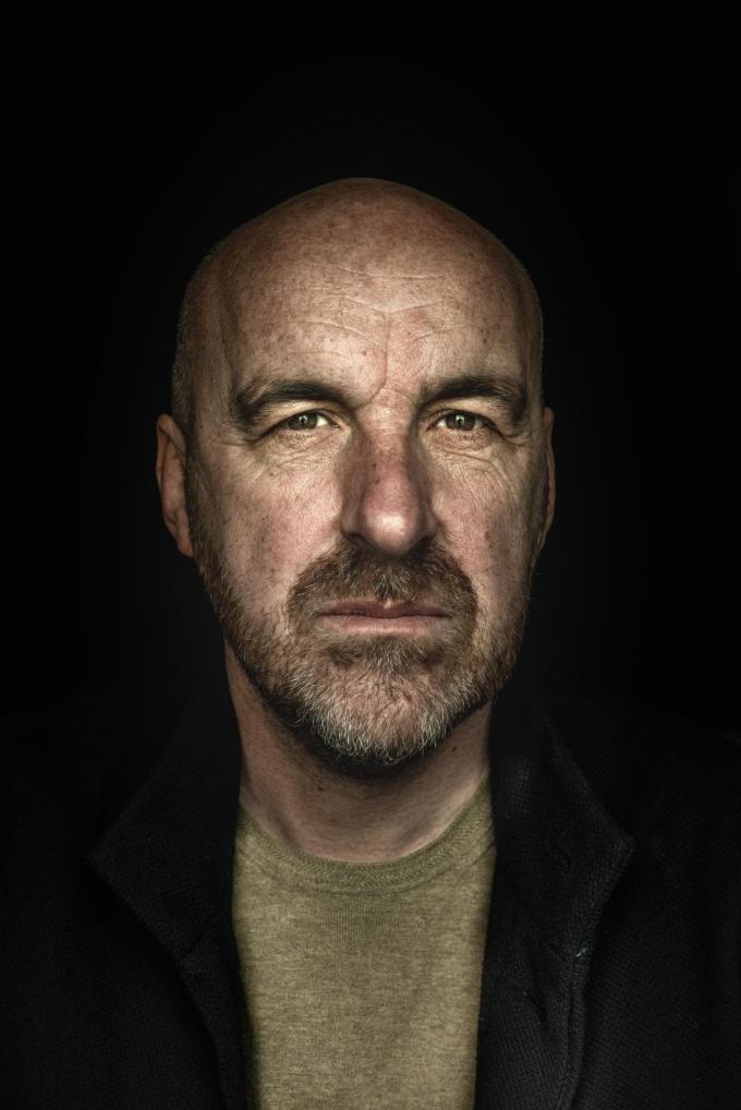 """Eric Goens: """"We maken nu 'Flikken BXL' en tja… hoopvol word je daar niet van."""" (Foto Christophe De Muynck)"""