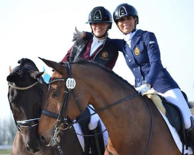 Manon Claeys en Michèle George zijn genomineerd voor de trofee.© Wendy Laermans