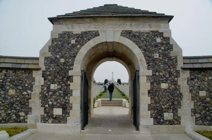 De Commonwealth War Graves Commission vond een troostplek in de buurt van Tyne Cot geen goed idee.© ZB