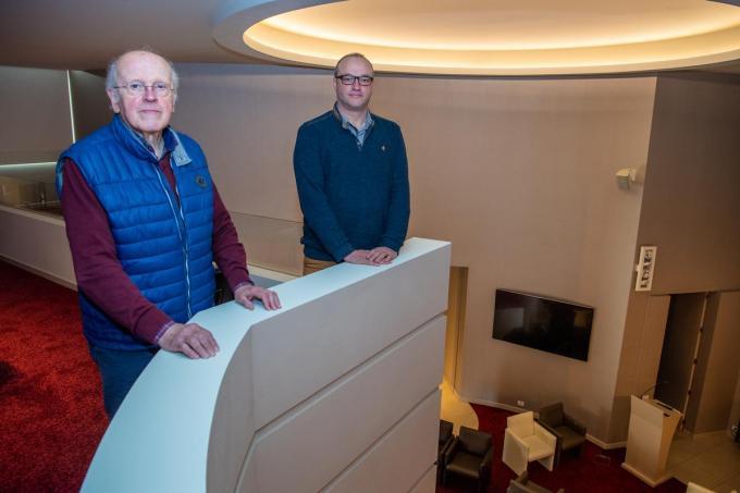 Marc en Stefaan van uitvaartzorg Snoeck.© (Foto FM)
