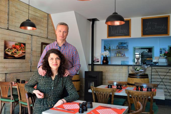Nedzad Bacic en zijn vrouw Adisa Bahonjic. (foto WK)