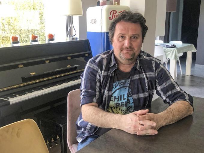 Dieter D'Alwein, zaakvoerder van café De Labberleute. (foto Sammy Declercq)