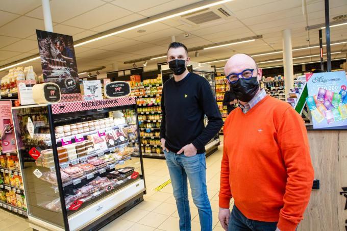 Olivier Dupon en Nico Kesteloot zijn blij dat ze met topproducten het verschil kunnen maken.© Davy Coghe