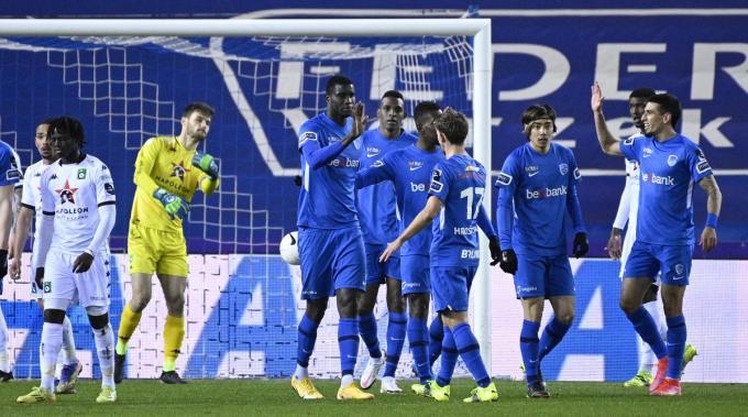 Cercle verliest met 2-0 van Genk.© BELGA