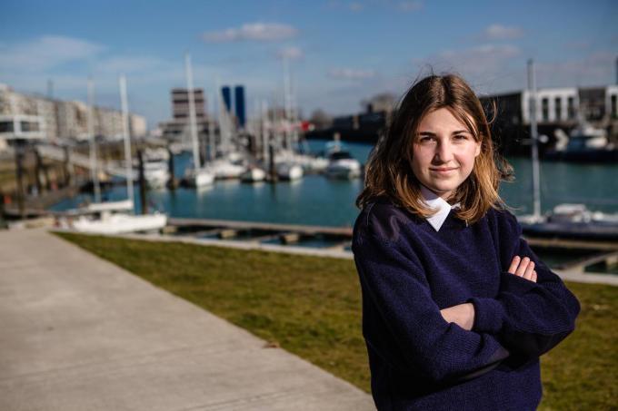 """Kirsten Thiel: """"Ik zit al heel mijn leven met schepen in mijn hoofd.""""©Davy Coghe Davy Coghe"""