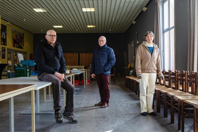 Antoon Vandeputte, Lieven Soetaert en Lieve De Caluwé.©Davy Coghe Davy Coghe