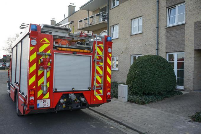 De brandweer was snel ter plaatse.© CLL