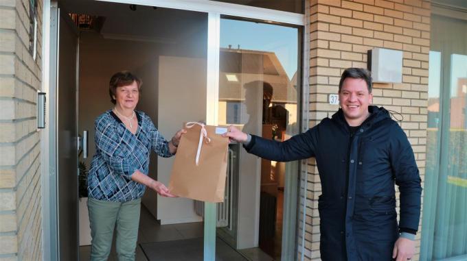 Sociaal Huis Wingene bedankt de vrijwilligers.© foto Nele