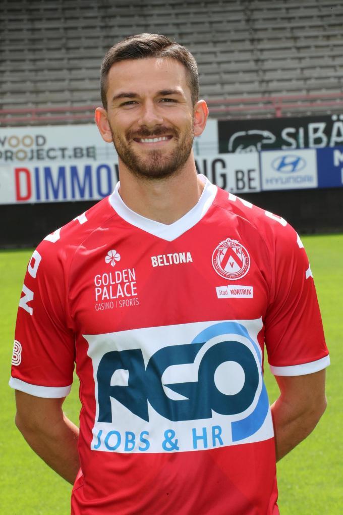 Brendan Hines-Ike verlaat KV Kortrijk.©VDB / Bart Vandenbroucke Bart