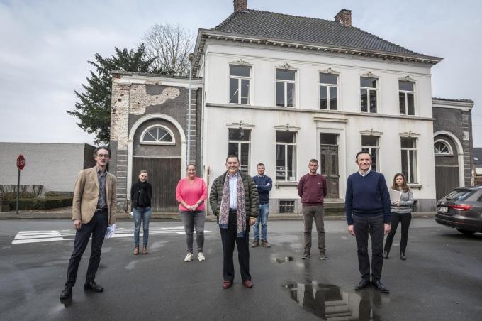 De bibliotheek in Huis de Müelenaere wordt eindelijk vernieuwd.©STEFAAN BEEL Stefaan Beel