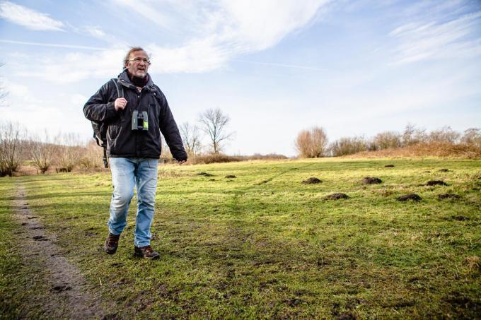 Robrecht Pillen is al sinds de start twintig jaar geleden aangesloten bij Natuurpunt.© Davy Coghe