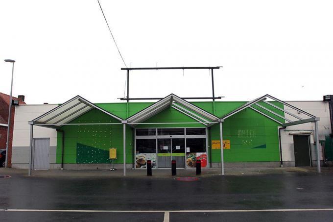 In de voormalige Smatch in Ingelmunster komt er een fitnesscentrum.© FODI