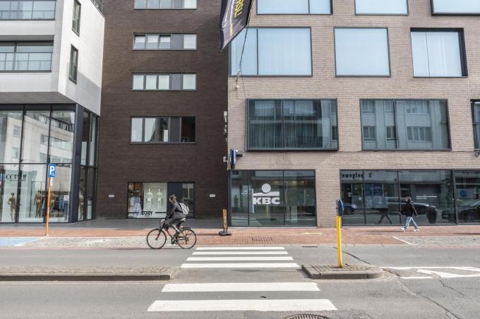 Op dezelfde plek staan nu De Munt en een KBC-kantoor.© Stefaan Beel