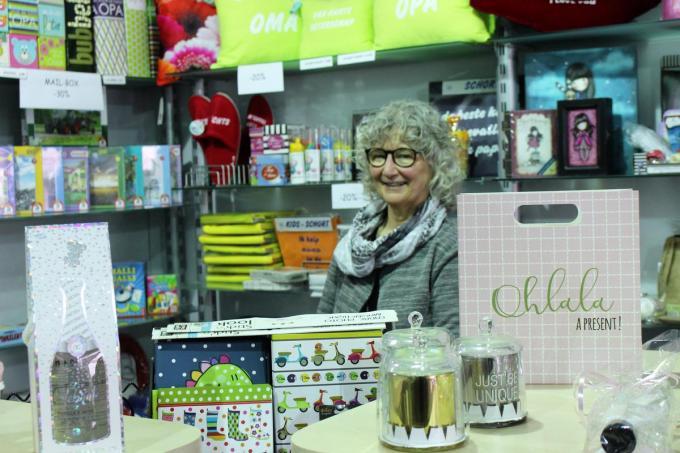 Na straks 26 jaar stopt Frieda Stael met haar geschenkenboetiek Tip-Top.© (Foto LIN)