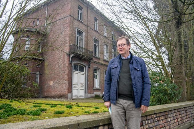 Pierre Vansteenkiste van Immo Lys gaat dokterswoning in de Gentsestraat renoveren.© (Foto Frank)