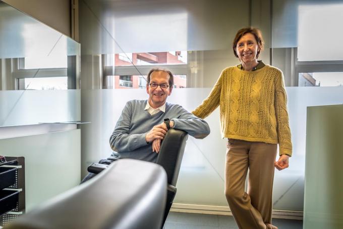 Lieven Vanhee en zijn vrouw Janice Persyn.© foto WME