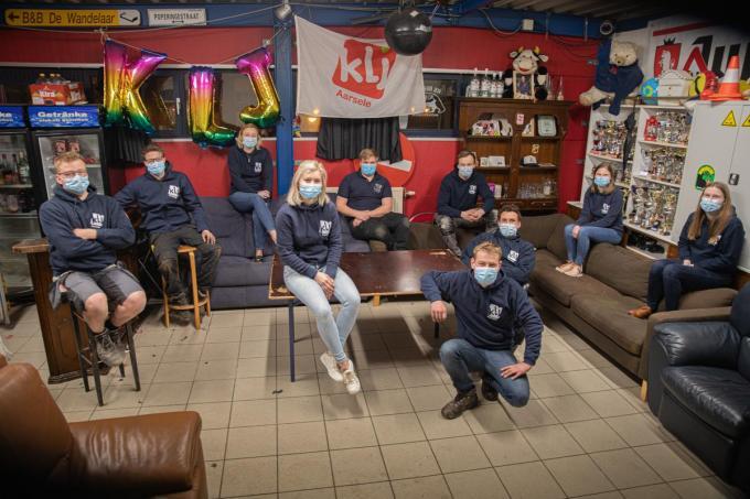 """""""Het sociale aspect van onze vereniging werd het meest gemist"""", zeggen de KLJ-leden in koor.© foto WME"""