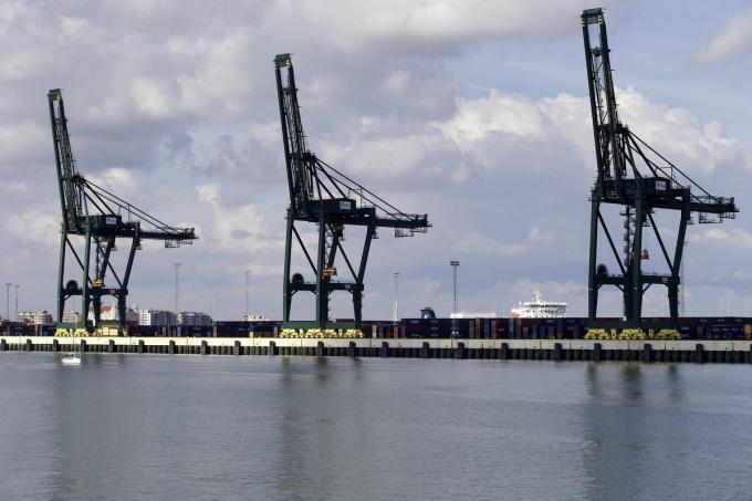 Voor Vlaams volksvertegenwoordiger Maaike De Vreese moet ook Zeebrugge in de ontwrichte zone worden opgenomen.©NICOLAS MAETERLINCK BELGA