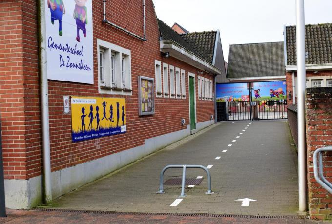 Onder meer GBS De Zonnebloem kampt met plaatsgebrek. (Foto ZB)©zenon bekaert beselare