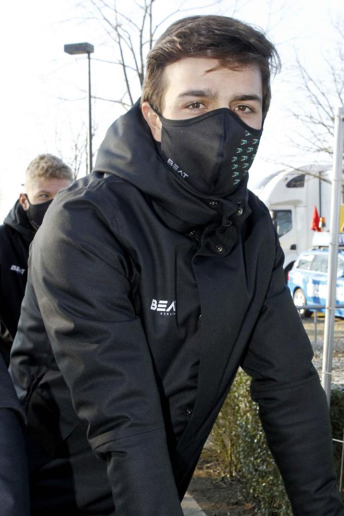 Stefano Museeuw reed een sterke Grote Prijs Jean-Pierre Monseré. (foto Coghe)©GINO COGHE Foto Coghe