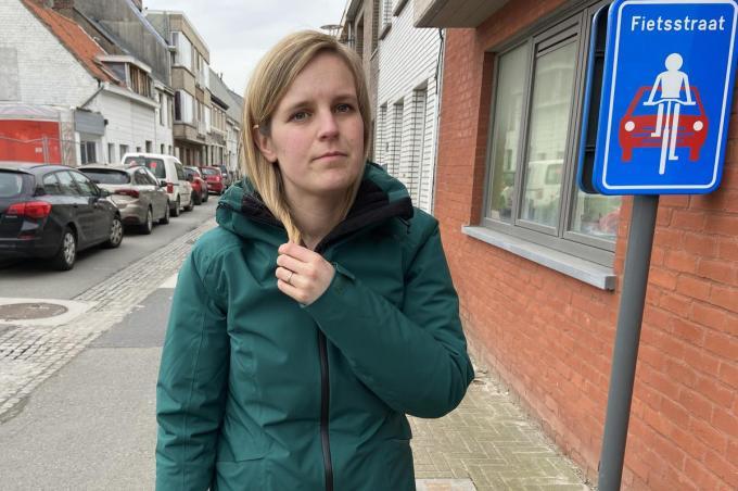 Elise Ryckebusch ziet haar toekomst in Oudenburg© KVdm