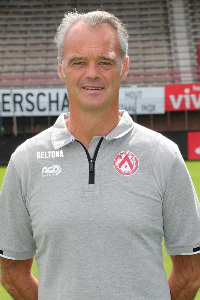 Bart Meert is meer dan twee jaar aan de slag bij KV Kortrijk. (foto VDB)© VDB