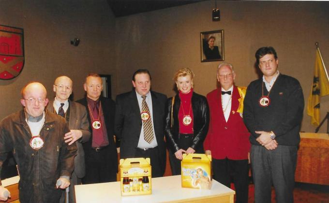 De Brigandsorde op zaterdag 20 januari 2001. (foto FODI)©FODI