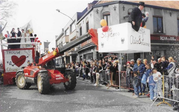 Het Brigandscarnaval zette de gemeente op stelten. (foto FODI)©FODI