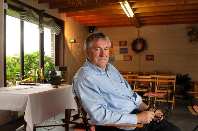 Norbert Bethune in zijn Atelier. (foto a-RN)©RONNY NEIRINCK KRANT VAN WEST-VLAANDEREN