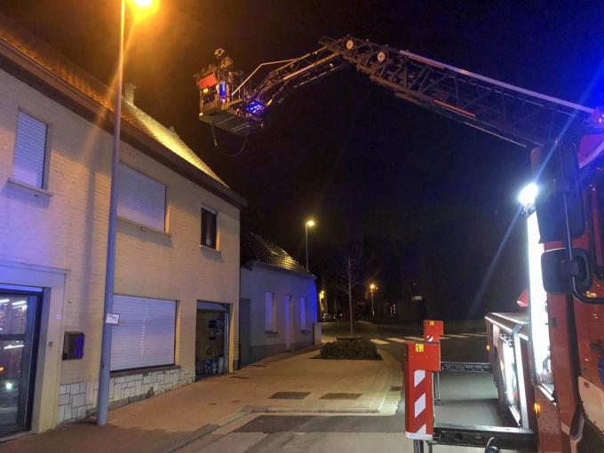 De brandweer voerde een uitgebreide veiligheidscontrole uit.© CLL
