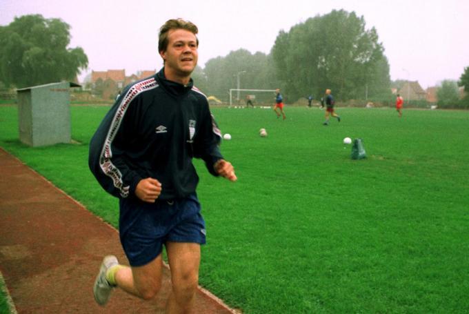 In september 1999 werkte Claude Verbeke aan zijn terugkeer. Het zou vergeefs blijken. (foto a-Danny)© TERRYN DANNY