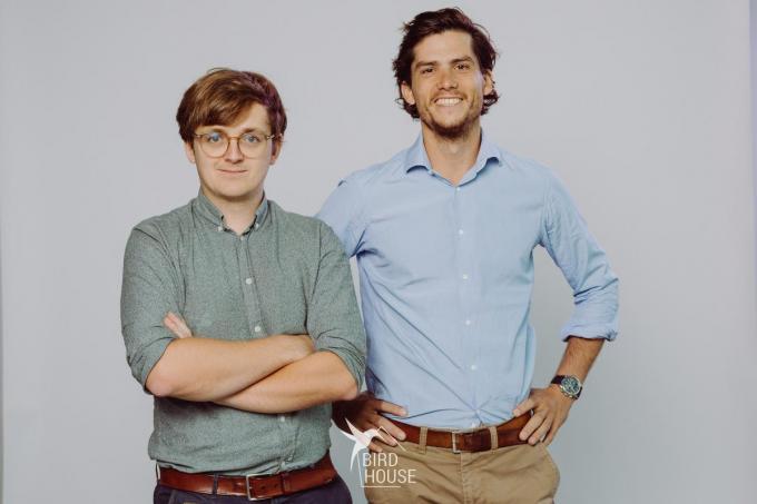 We zien links Simon Feys en rechts Thomas Hanssens. (foto TOGH)