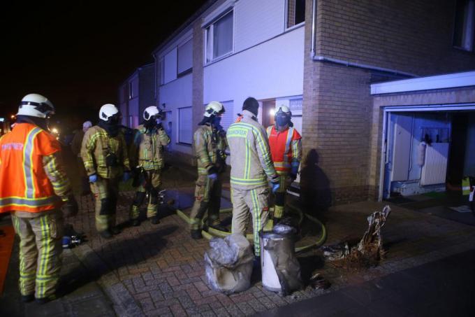 De brandweer had de situatie snel onder controle.© NDZ