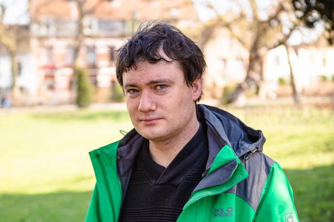 """Frederiek Van Nieuwenhuyse: """"Mijn omgeving geloofde aanvankelijk niet dat ik autisme had.""""© Davy Coghe"""