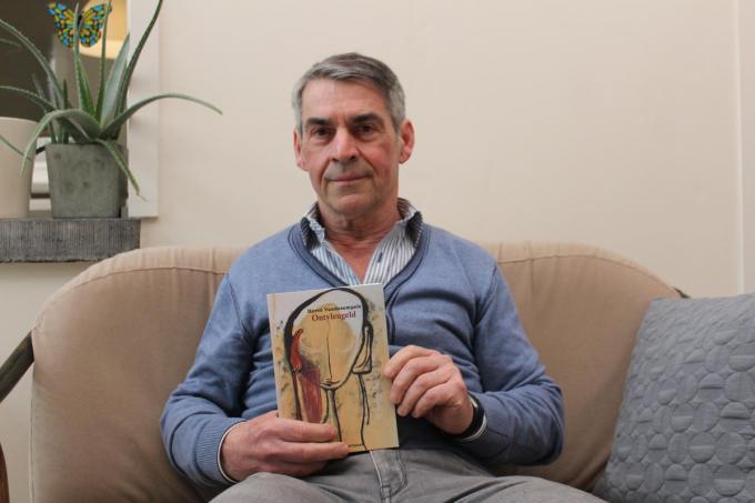 Hervé Vandesompele schreef met Ontvleugeld zijn eerste roman.© (Foto DJW)