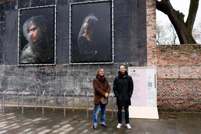 Robin Aerts en Wannes Cappelle.© Mathieu Van de Sompel