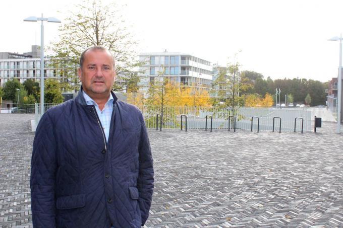 Burgemeester Kurt Vanryckeghem is opgelucht.© DJW