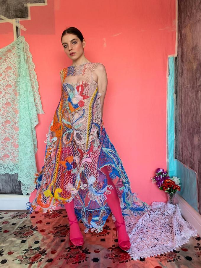 Een kleurrijk ontwerp van Alexandra Sipa.© Alexandra Sipa