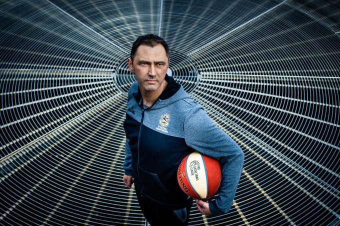 Dario Gjergja, Kroatisch-Belgisch basketbalcoach.© Kris Van Exel