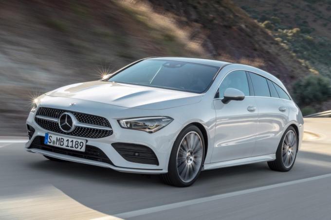 De sportief-elegant ogende Mercedes-Benz CLA Shooting Brake.© GF