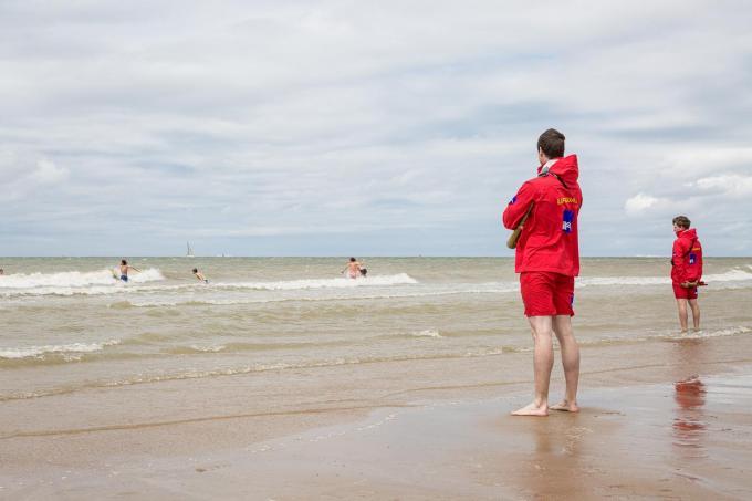 In Zeebrugge worden vanaf Hemelvaartweekend voor het eerst redders ingezet.©Davy Coghe Davy Coghe